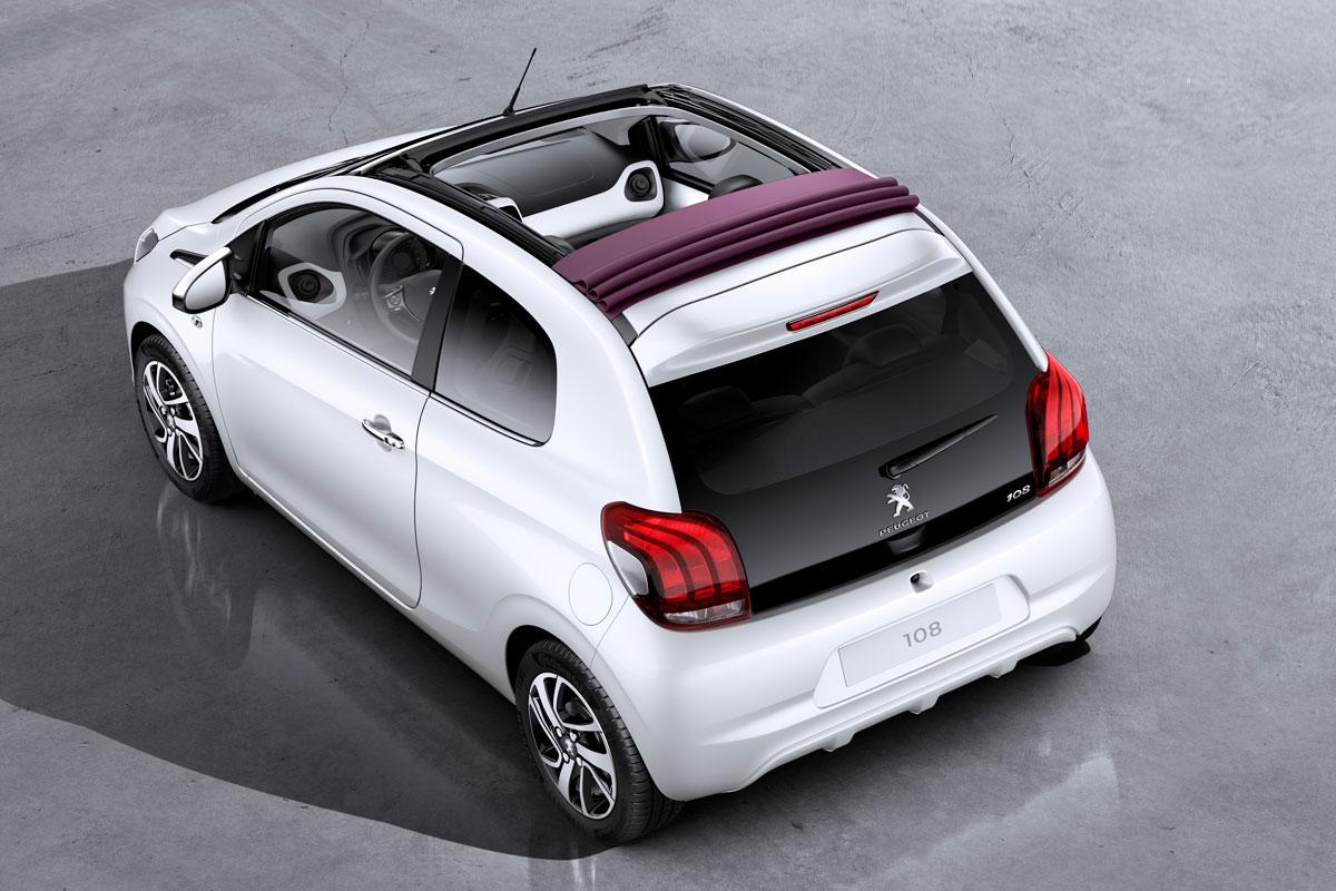 Cat A3 – Peugeot 108   1.0 open top
