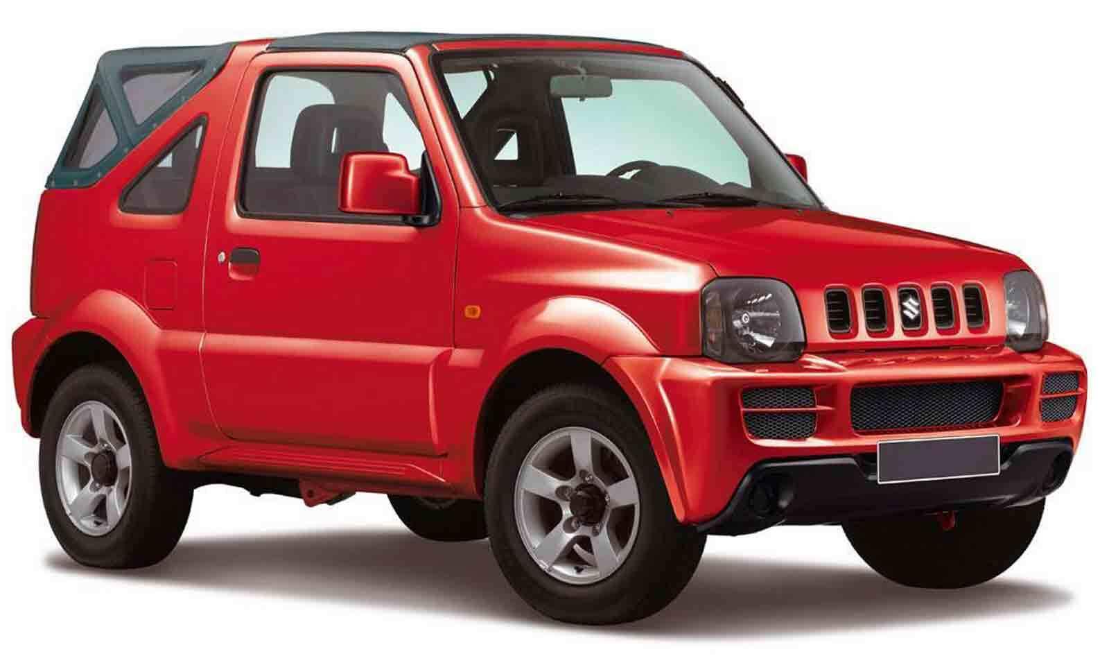 Cat E1 – Suzuki Jimny | 1.3 open top
