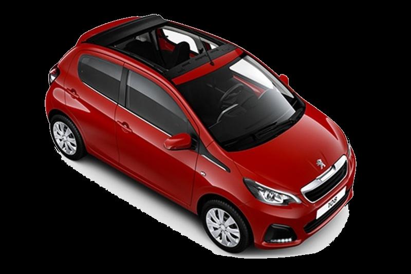 Cat A3 – Peugeot 108 |  1.0 Auto – Open top
