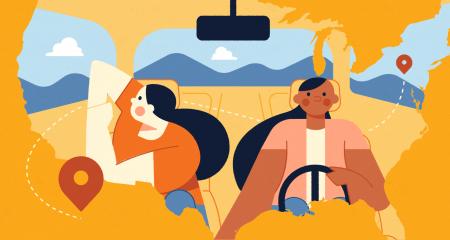 11 Car Yoga Exercises for a Restorative Road Trip