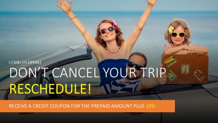 Coronavirus epidemic and affected car rental bookings