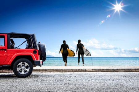 Hire 4×4 jeep in Paros